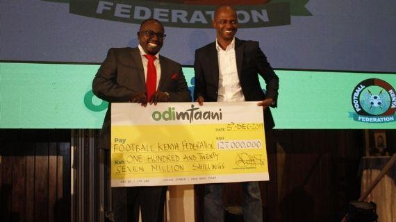 FKF drops Odibets as motivation partner