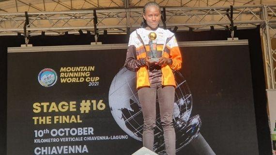 Kenya's Njeru and Italy's Aymond crowned World Mountain Running Champions