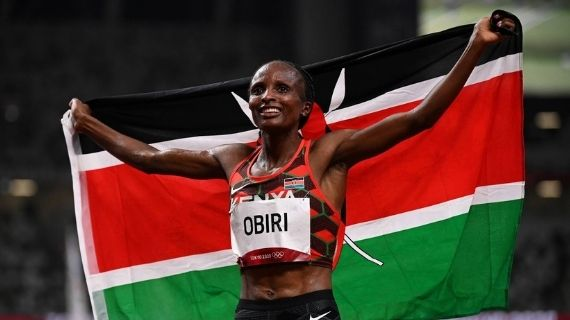 And now we have Senior Sergeant Helen Obiri!
