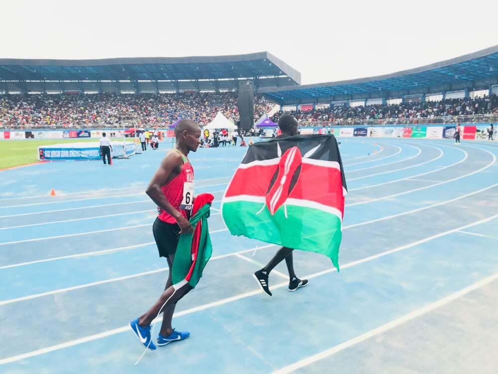 Golden Edward Zakayo wins 5000m in Asaba