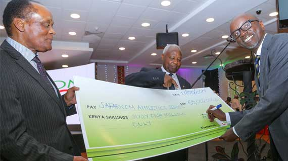 Safaricom commits Kshs.65 Million as 5th edition of Athletics series is launched