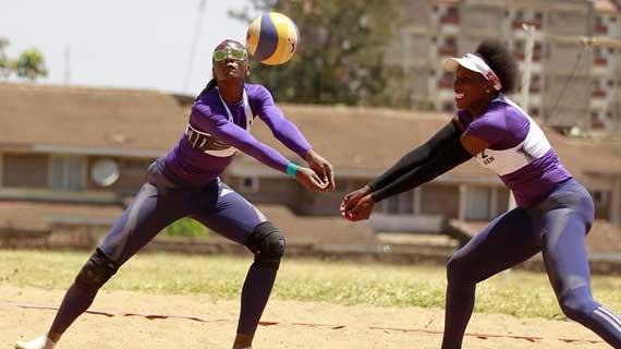 Kenya Beach volleyball teams seek podium finish in Cape Verde