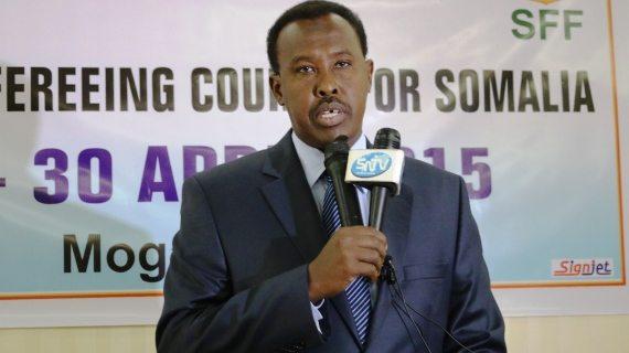 CECAFA lauds  football progress in Somalia.