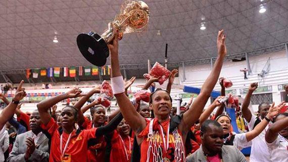 Angola wins women Afrobasket