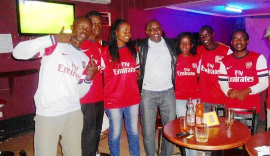 Kenya Arsenal fans set for Charity weekend