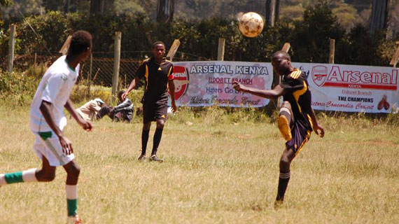 Kiambu beats Elgeyo to lift Arsenal Fan Club annual tourney