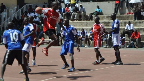 Artillery Gunners win KDF Handball League
