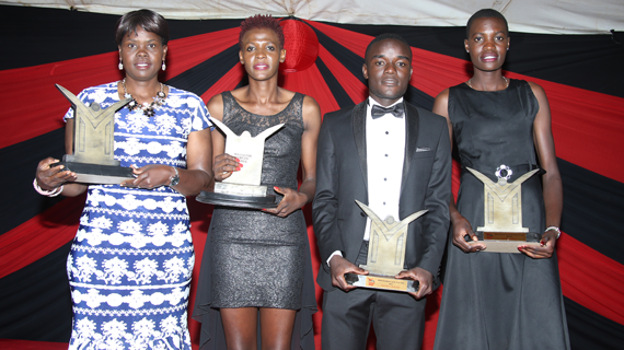 Trizah Atuka wins Overall Sports personality at Magharibi Michezo Awards