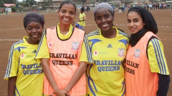 Bravilian Queens giving hope to talented girls in slums