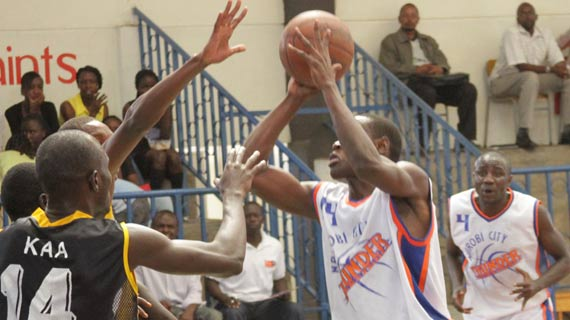Weekend basketball results