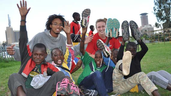 Kids benefit from Michezo Afrika, Baylor program