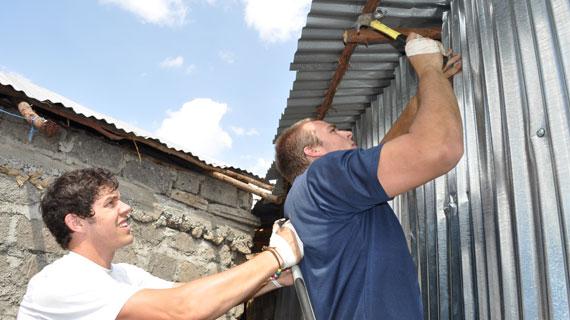 Visiting Baylor team Rebuilding lives through sports