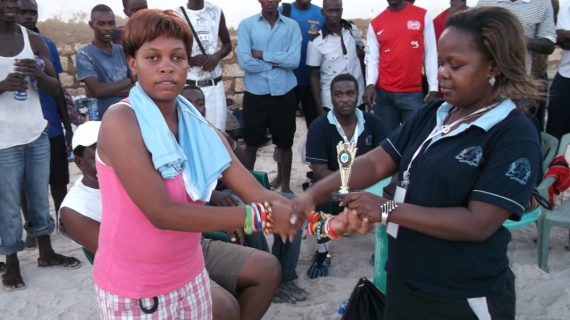 Beach handball aiming at improving Coastal standards