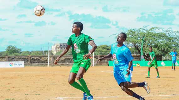 Berlin FC through to North Eastern Chapa Dimba Finals