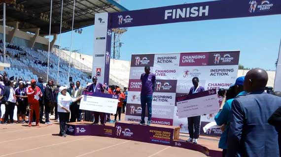 Bett, Kipkoech clinch 2019 Beyond Zero Half Marathon