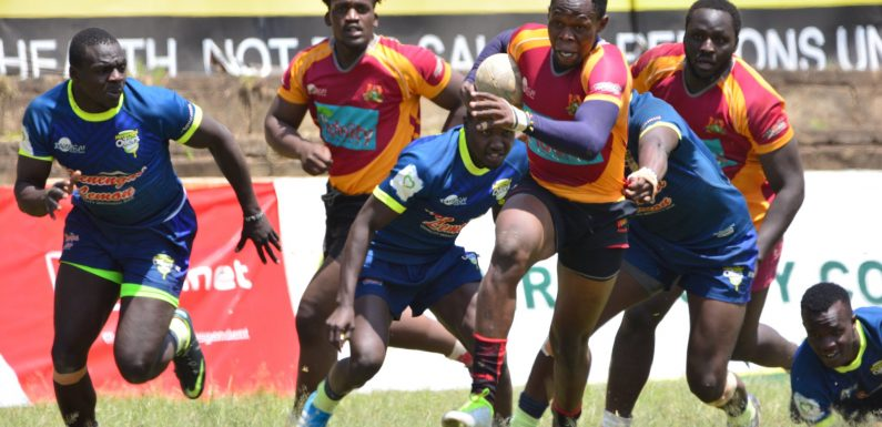 Kenya Cup Wrap: Kabras stay top, KCB edge Quins