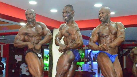 Kenya Bodybuilders too strong for Ugandans