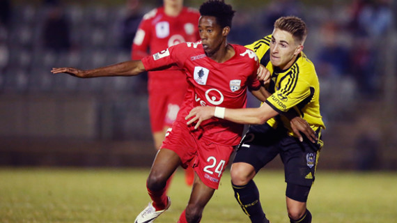 Kenyan born Kamau features in A-League fixture