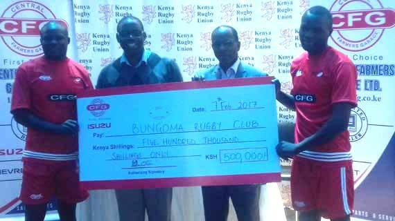 Bungoma Rugby lands CFG sponsorship