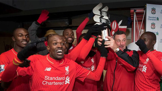 Capital FM wins Stanchart trophy at Anfield
