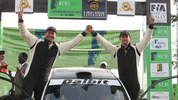 Carl Tundo wins 2012 Rally championship with Eldoret victory