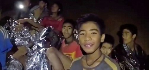 FIFA invites cave trapped boys team to World Cup final