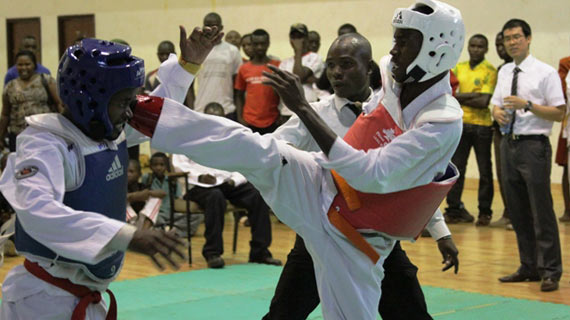 Taekwondo Champion impress on debut appearance