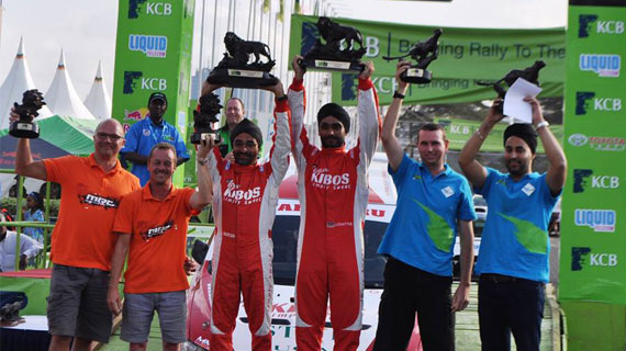 Jaspreet Chatthe wins 2016 Safari Rally title