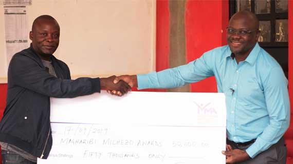 Coach Innocent Simiyu boosts Magharibi Michezo Awards kitty