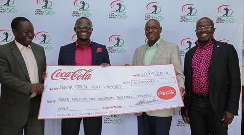 KES 3.5 million more for the Kenya Open Tourney
