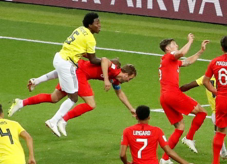 Russia 2018: Over 170,000 Sign Petition Demanding Colombia, England Replay