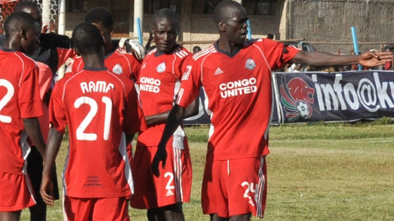 14-man Congo United heads to Mumias for AFC Clash