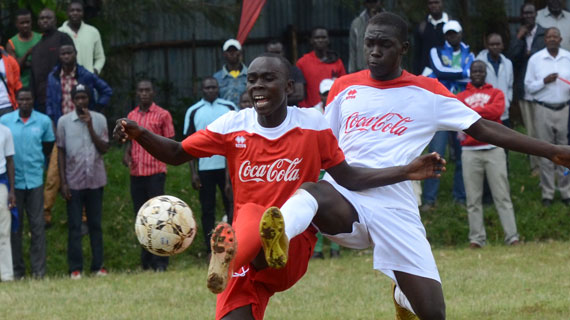 St Anthony's score double, Kakamega High in commanding start