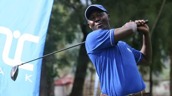 Charles Aburi wins NIC Nyanza golf tour