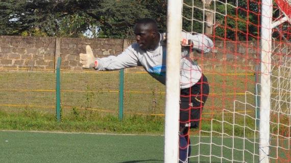 Mathare United sign keeper Okello