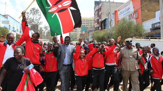 Mandago flags off Team Kenya for East Africa Games in Eldoret