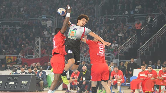 Egypt win Africa handball title