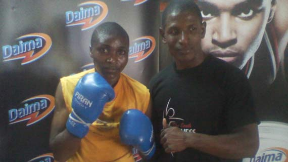 Zarika readying for Germany fight