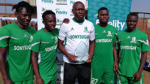 Coach Odhiambo completes Sony awards double