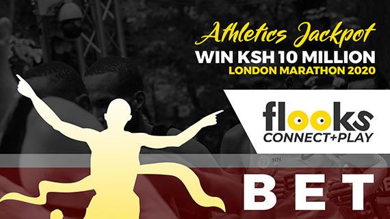 Flooks Betting Company Launches Jackpot on the 2020 London Marathon