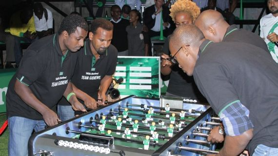 Mombasa team wins 2014 Foosball tournament