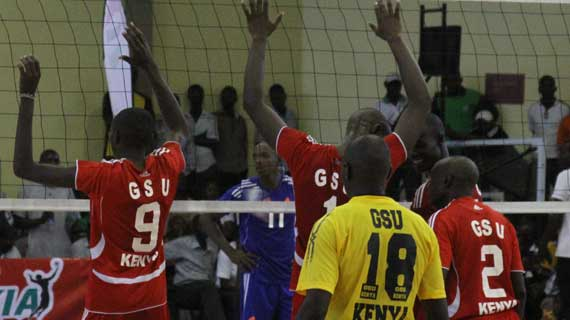 CAVB Men's Club Championship: GSU recover as KPA tumble
