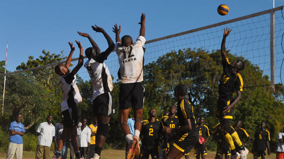 KDF pulls out as Volleyball action heads to Voi