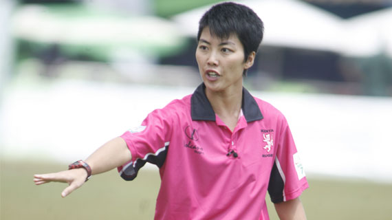 Gabriel Lee - The outstanding female rugby referee