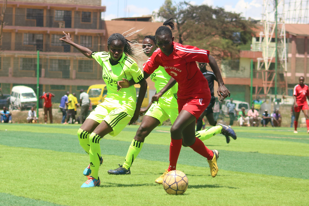 FKF Women's Cup quarterfinalists confirmed