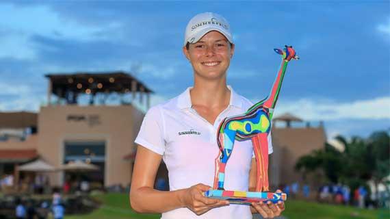 Esther Henseleit wins Kenya Ladies Open Golf tournament