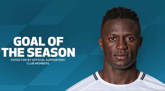 Wanyama's thunderbolt voted goal of the season