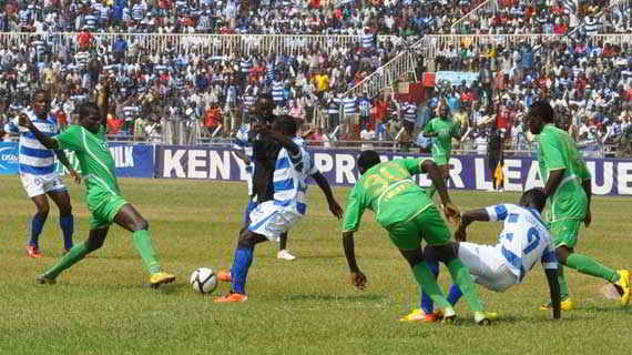 AFC vs Gor Mahia derby switched back to Sunday