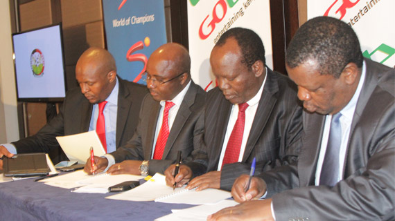 Gotv officially unveiled as CECAFA title Sponsors