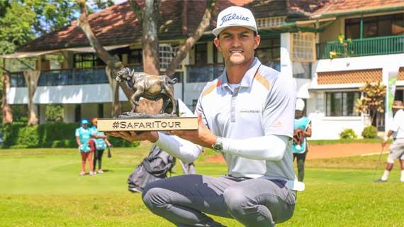 Greg Snow bags third Safari Tour Title with Muthaiga win